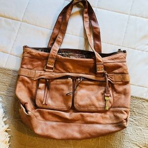 Large fossil purse